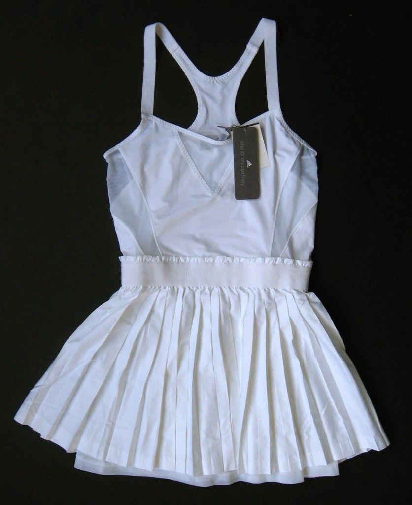 Adidas Stella Mccartney Tennis Dress 2 Caroline Wozniacki Ballet S Tennis Dress Stella Mccartney Tennis Dress Stella Mccartney Tennis