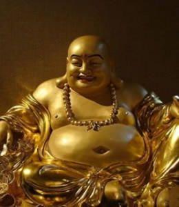 le bouddha rieur un porte bonheur toujours souriant spirituel pinterest bouddha rieur. Black Bedroom Furniture Sets. Home Design Ideas