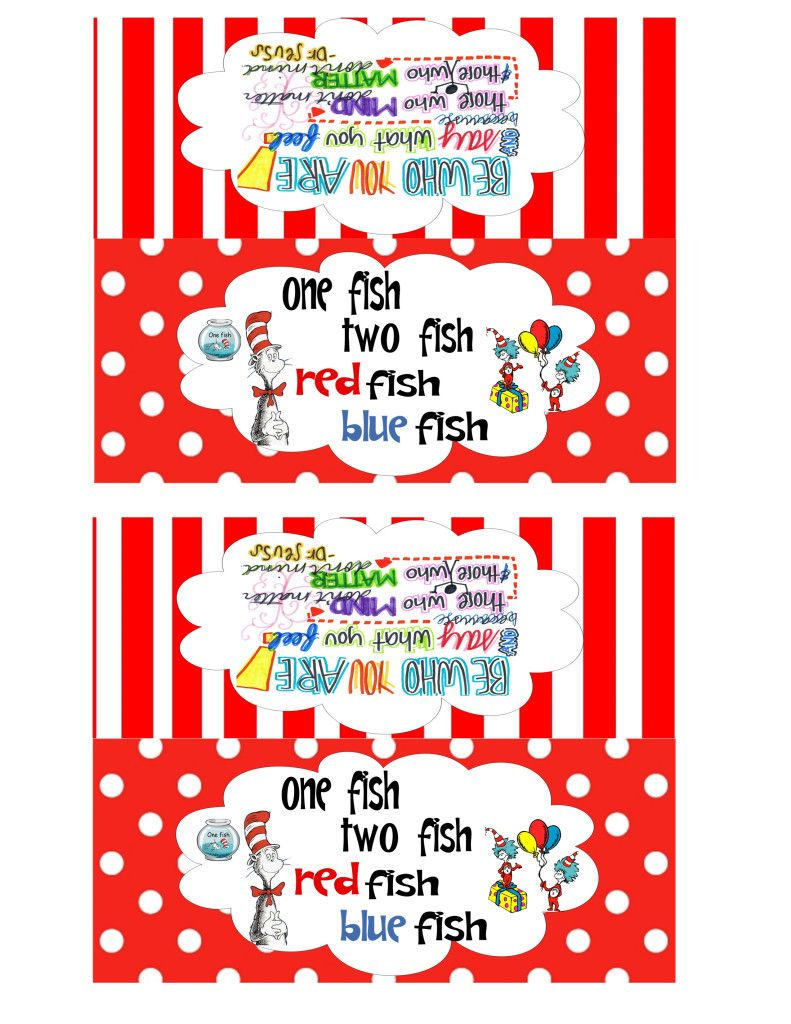 Dr. Seuss Bag Toppers | back to school | Pinterest | Bag toppers ...