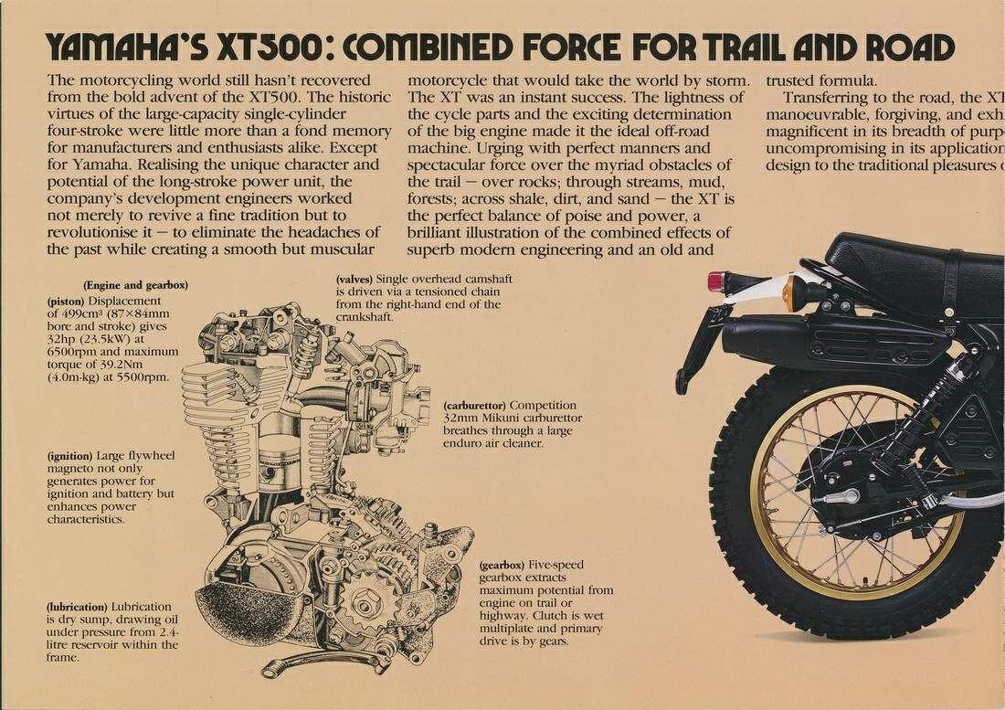 Yamaha Xt 500 Yamaha Motorcycle Custom Bikes