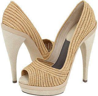 Donna Karan Cloth Heels ndYWX