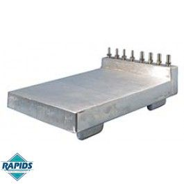 Replacement Aluminum Cold Plate For Beer Jockey Box 4 Lines