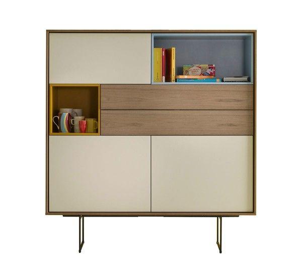 Aura s6 madia alta japanese style arredamento mobili for Mobili contemporanei moderni