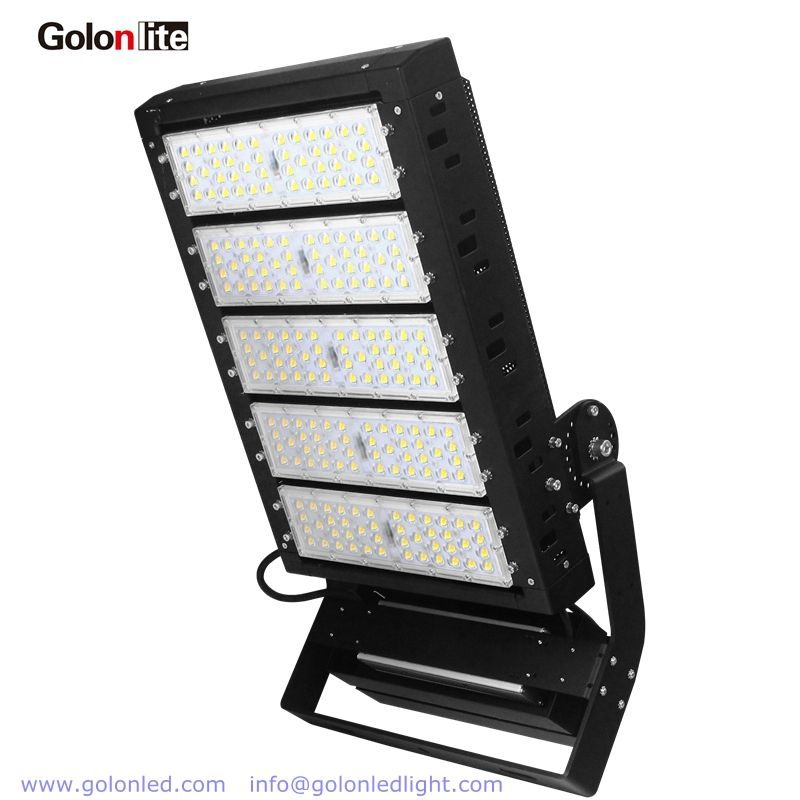 500w Led Flood Light For Football Soccer High Mast Sport Court 140lm W Replace 2000w Mhl Philips Smd5050 Meanwell Drive Led Flood Flood Lights Led Flood Lights