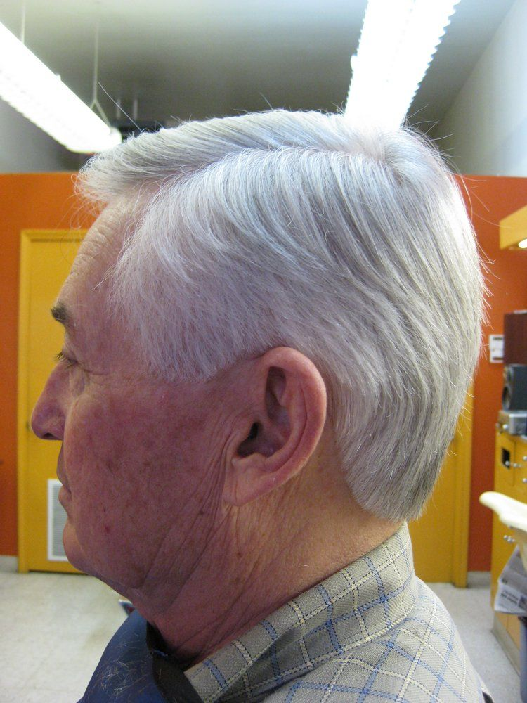 Senior citizen haircut actual customer of alexs deluxe barber haircuts winobraniefo Image collections
