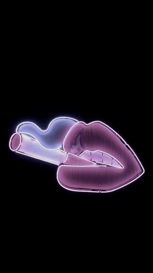 Lockscreens Neon Wallpaper Trippy Wallpaper Emoji Wallpaper