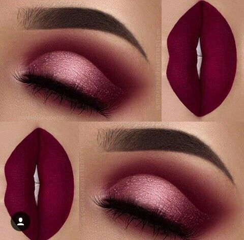 Strong eye and lip