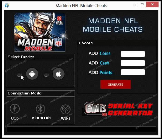 pin by gameserialkeygenerator blogspot com on madden mobile hack
