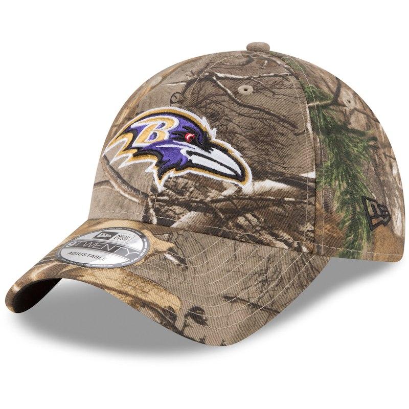 dda6733b77076 Baltimore Ravens New Era Realtree 9TWENTY Adjustable Hat – Realtree Camo
