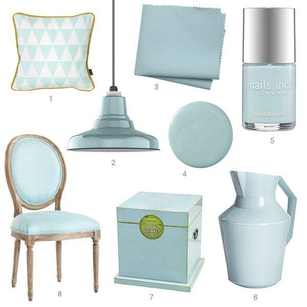 Color Of The Week Light Aqua Home Decor Accessories Light Aqua Home Accessories