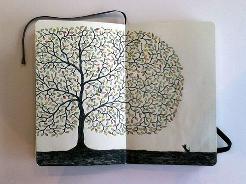 Libretas De Dibujo De Un Artista Freelance: Notebook Inspiration #2 - Girlscene Forum