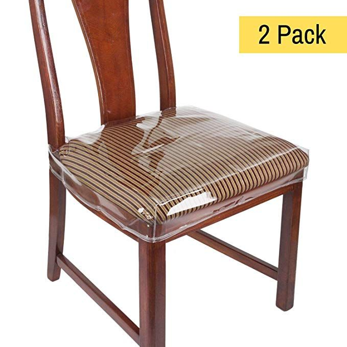 Houseables Chair Seat Covers, Plastic Cover, Fits 16†â ...