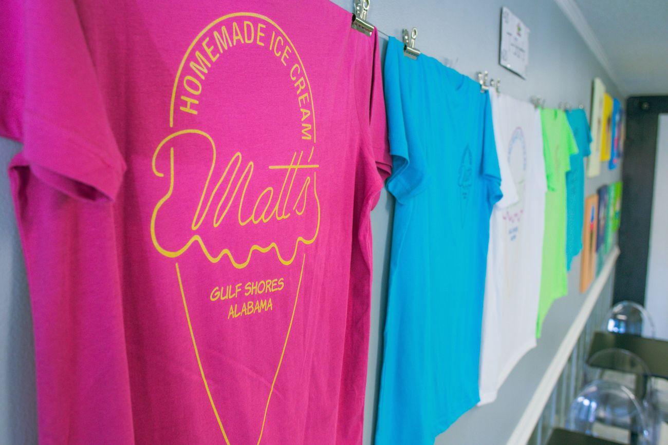 Matt's Homemade Ice Cream T-shirts