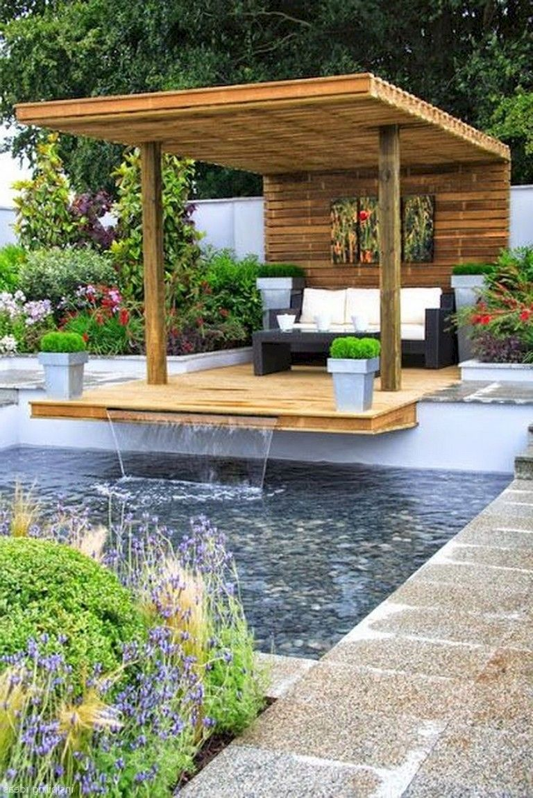 48+ Beautiful DIY Backyard Gazebo Design and Decorating Ideas #beautifulbackyards