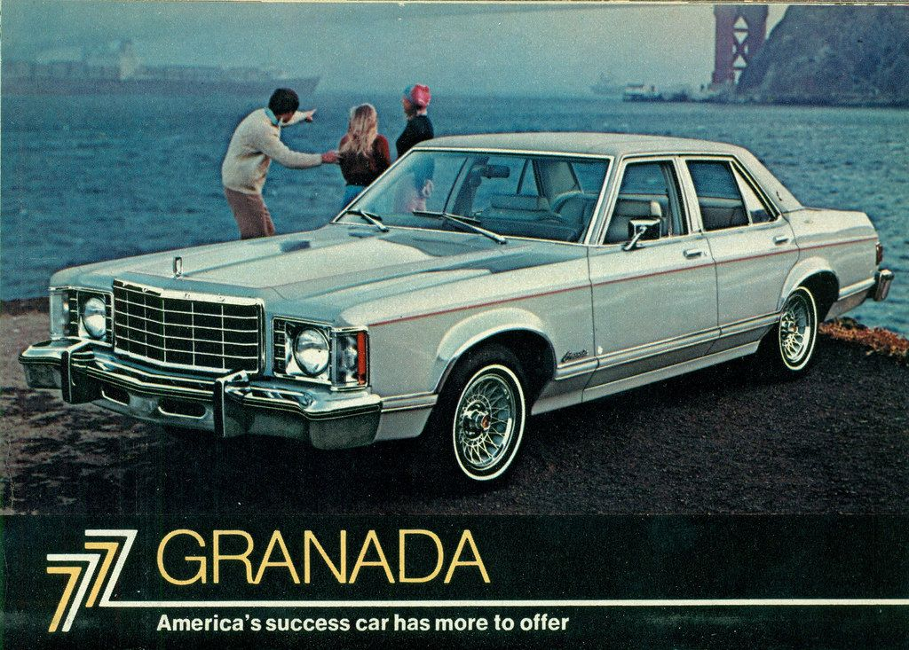 1977 Ford Granada Ghia 4 Door Ford Granada Granada Car Ford