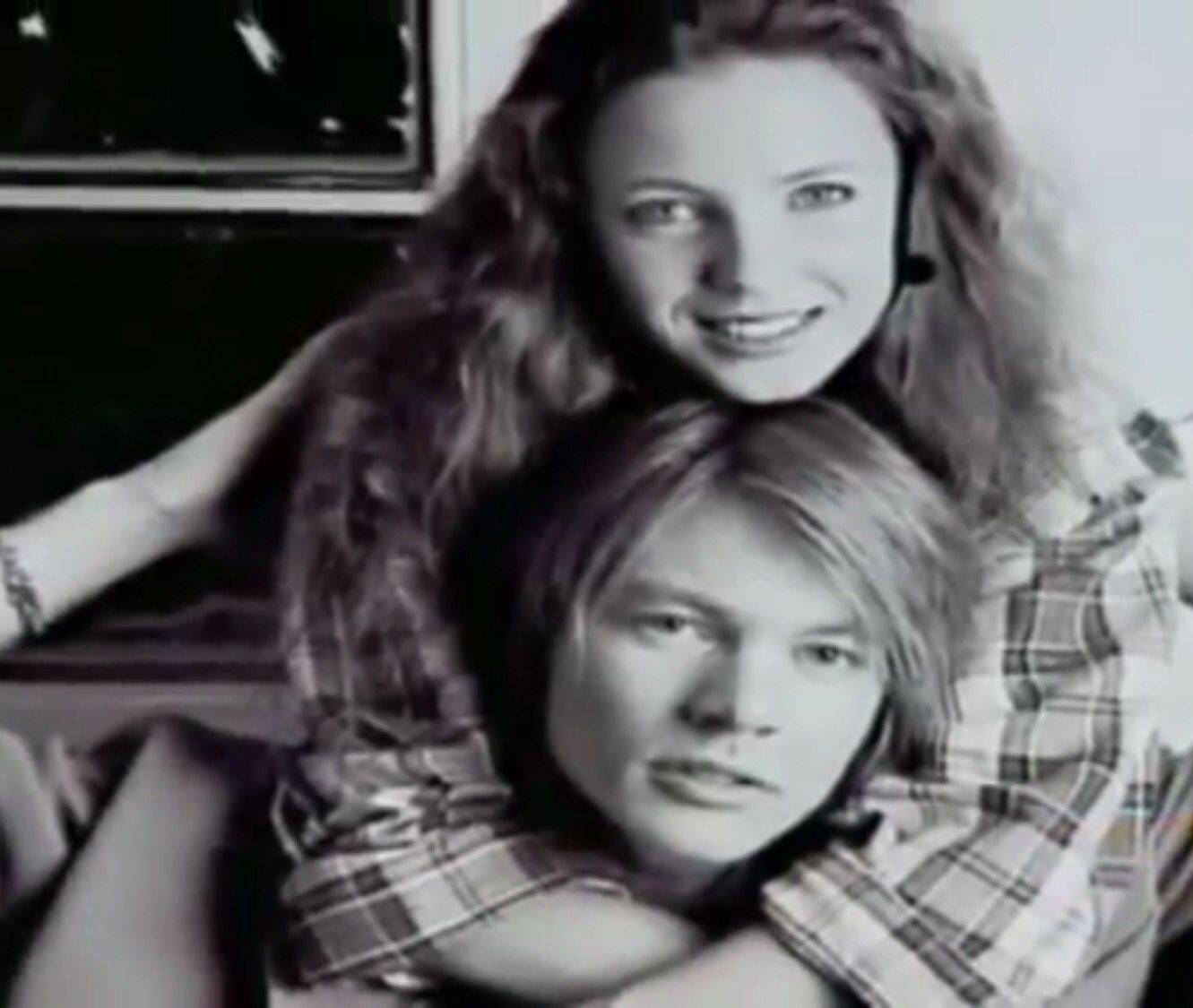 W. Axl Rose & Erin Everly | W. Axl Rose | Axl rose, Guns N ...