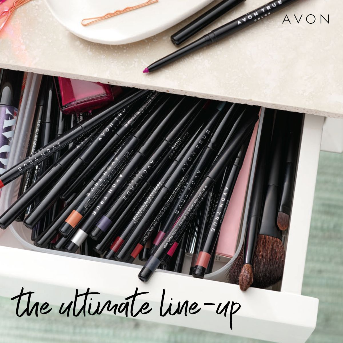 Avon True Color Glimmersticks Eye Liner BENEFITS • Long-wearing (10 hours) • Creamy, smooth,…