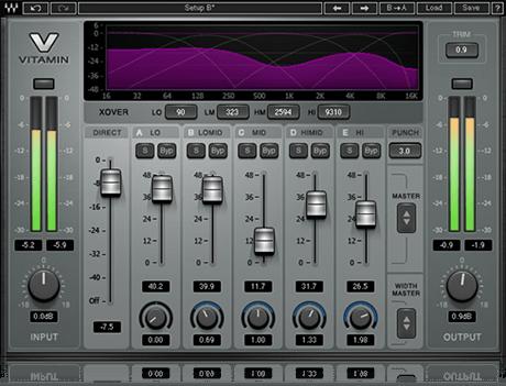 Vitamin Sonic Enhancer Plugin Waves Waves Audio Waves Plugins Plugins