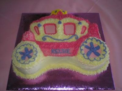 Princess cake - carriage