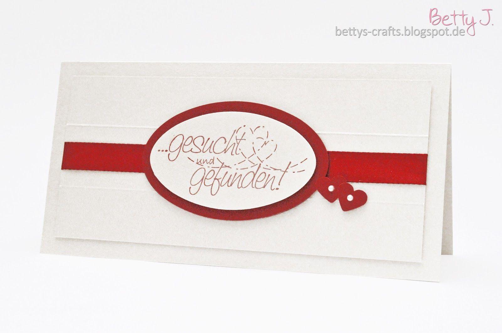 Bettys crafts gesucht und gefunden hochzeitskarte die siebte