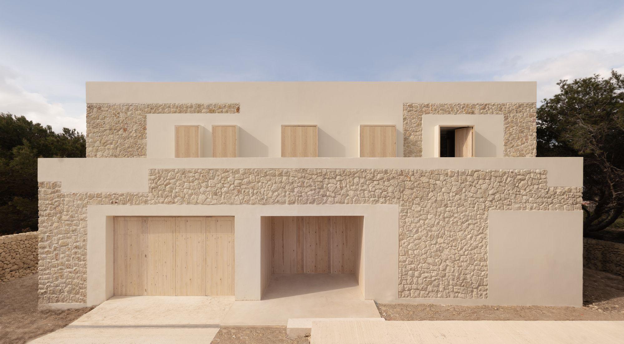 Casa De Piedra Nomo Studio Limestone House Stone House Stone