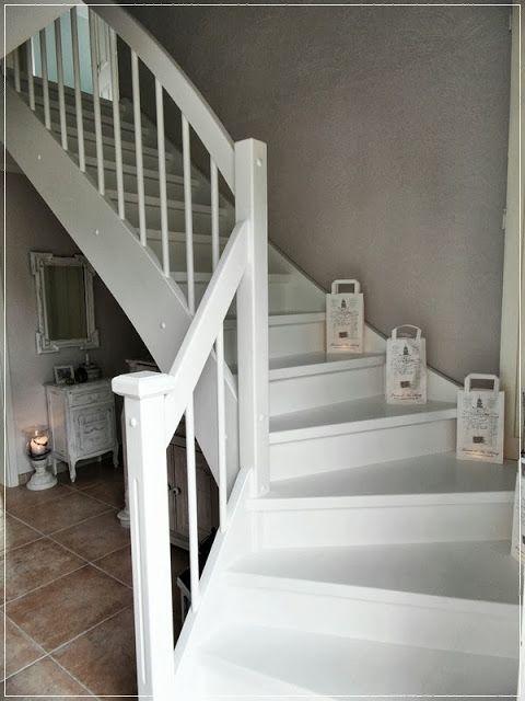 step for step aus buche wird wei diy wohnen in 2018 pinterest treppe flure und. Black Bedroom Furniture Sets. Home Design Ideas