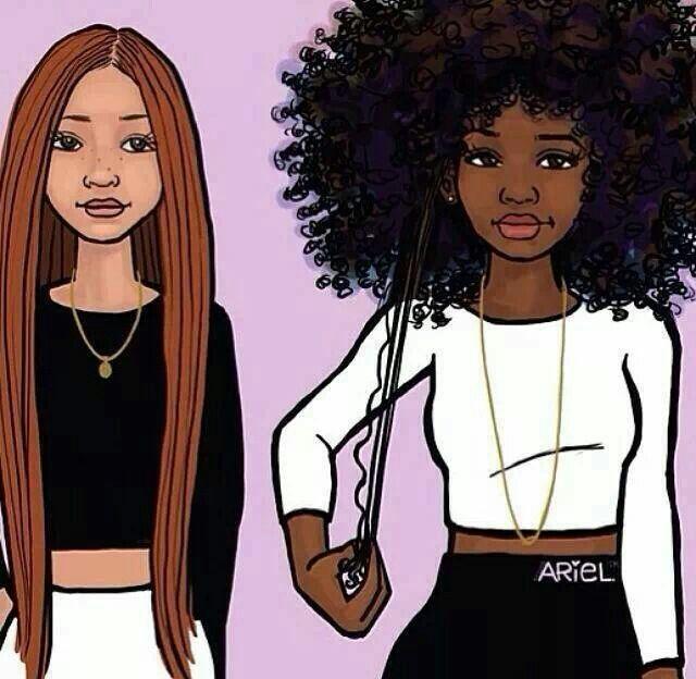 Follow Me For More Animated Pins Cute Cartoon For Natural Hair Likeness Natural Hair Styles Natural Hair Art Big Hair