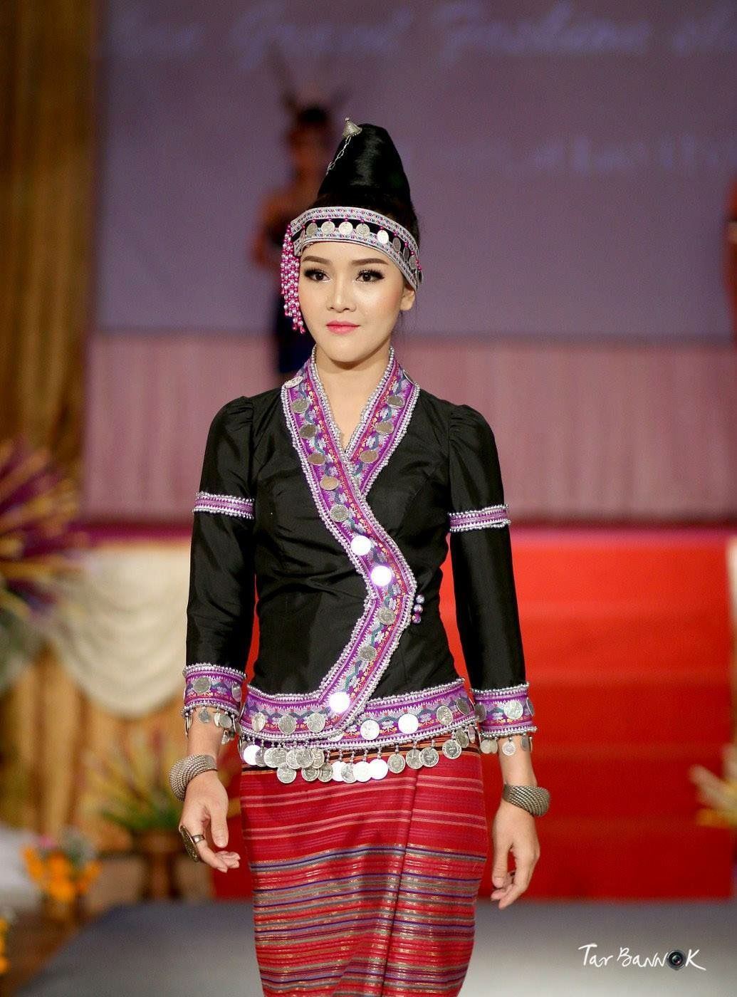 Pin By Toni Philadeng On Lao And Laos  Thai Traditional -2863