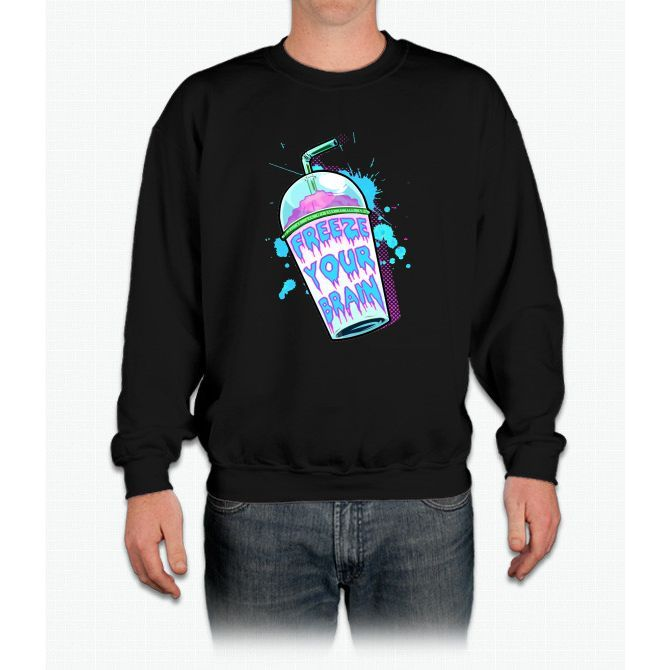 Freeze Your Brain Crewneck Sweatshirt