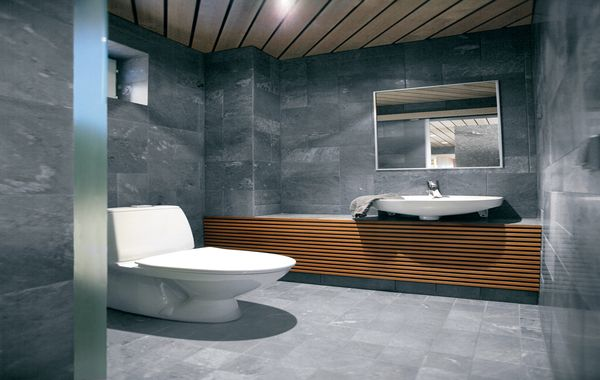 Superior Grey Bathroom Tile Interior Design Light Grey Tile  Part 15