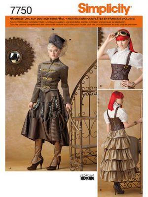 7750 Simplicity Schnittmuster Kostüm | Kleider | Pinterest ...