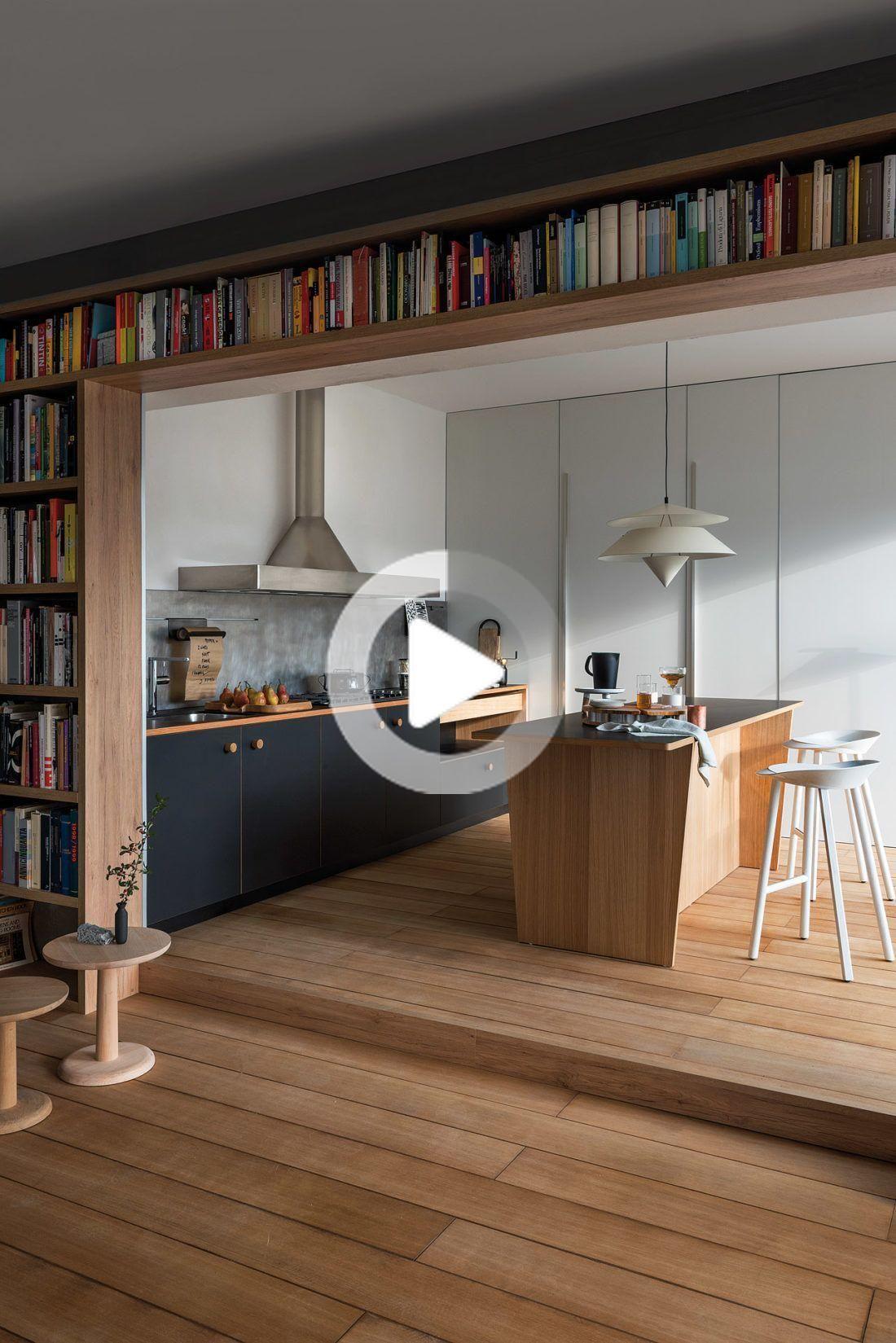 Modern Landhauskueche Weiß Klassisch Holz Kueche Kochinsel Bora Neff 061 – Wood Desings in 2020 ...
