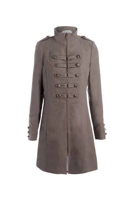 Manteau beige femme cache cache