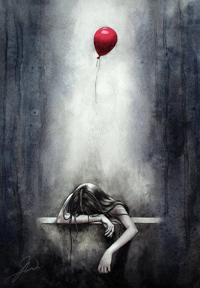 Imagem Tristes balão
