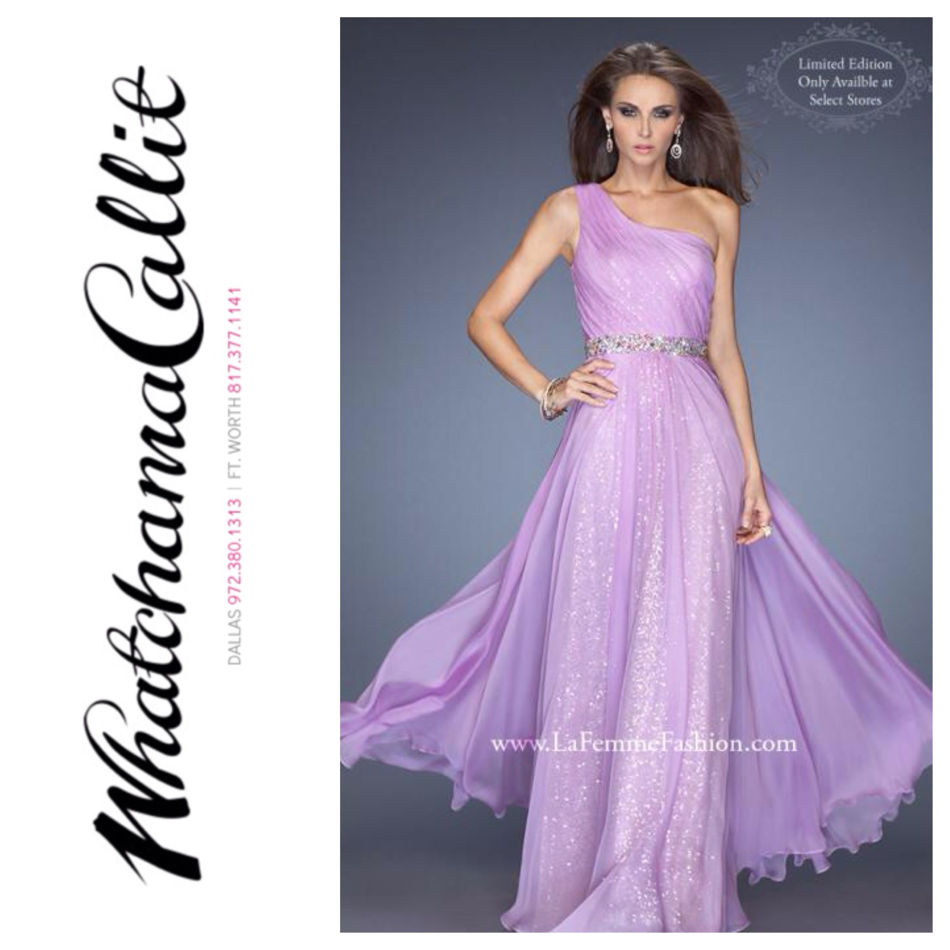 La Femme dress available at Whatchamacallit Boutique for #prom2014 ...