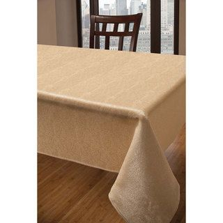 Captivating Sandstone Gold Tablecloth