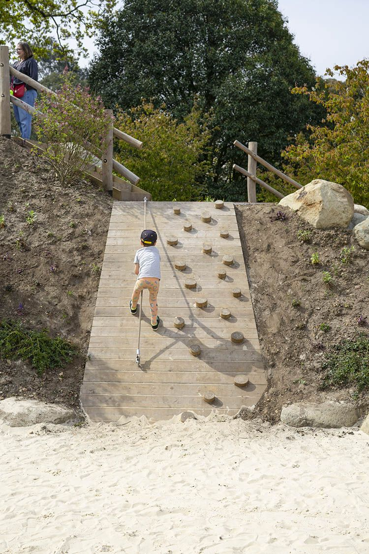 Photo of climbing ramp