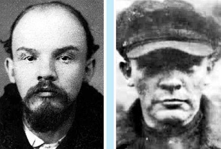 Владимир Ульянов и Николай Ленин