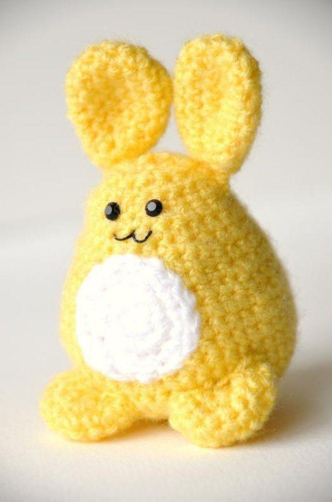Easter Bunny Crochet Pattern Easter Bunny Amigurumi Pattern