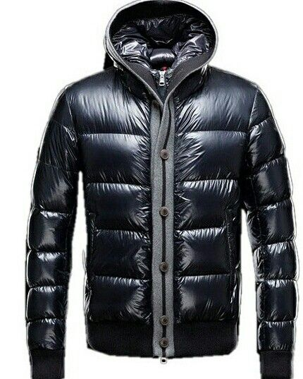 Moncler Cesar Down Mens Jackets Fashion Dark Blue #moncler #downcoat #mencoat #wintercoat