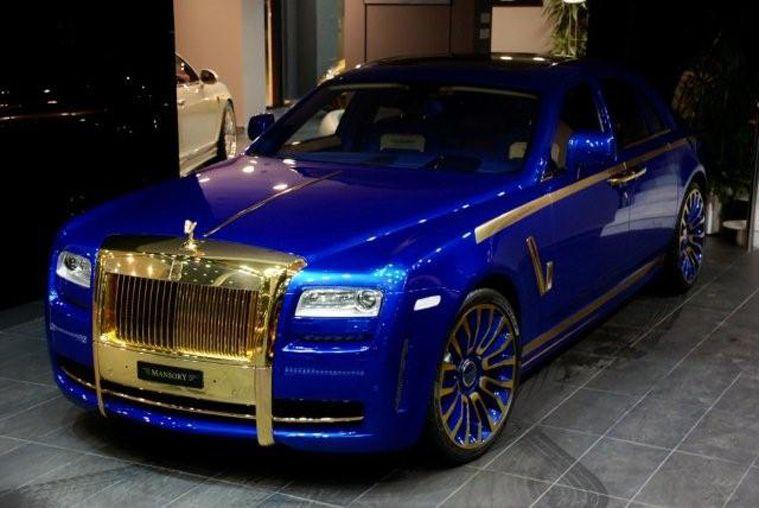 Rolls Royce Phantom Ghost Mansory Edition Tastefully