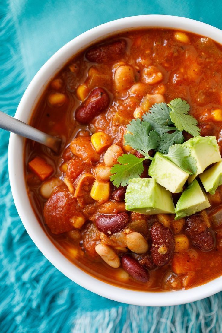 Easy Vegan Chili Recipe #chilirecipe