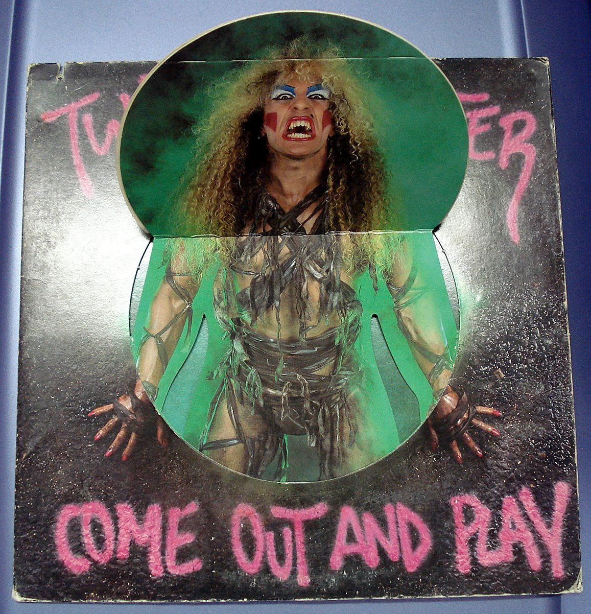 Risultati immagini per twisted sister come out and play