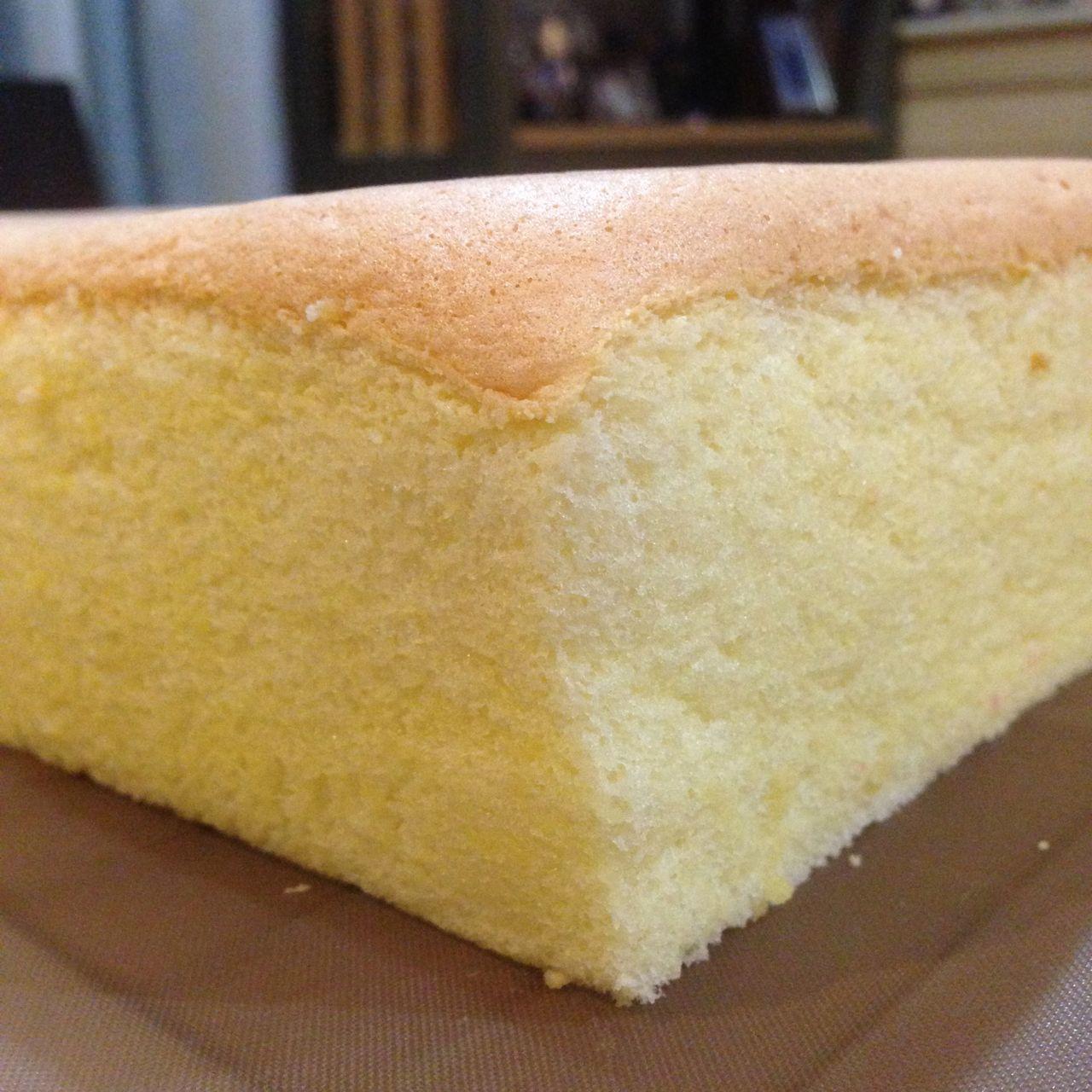 Almond meal sponge cake recipe