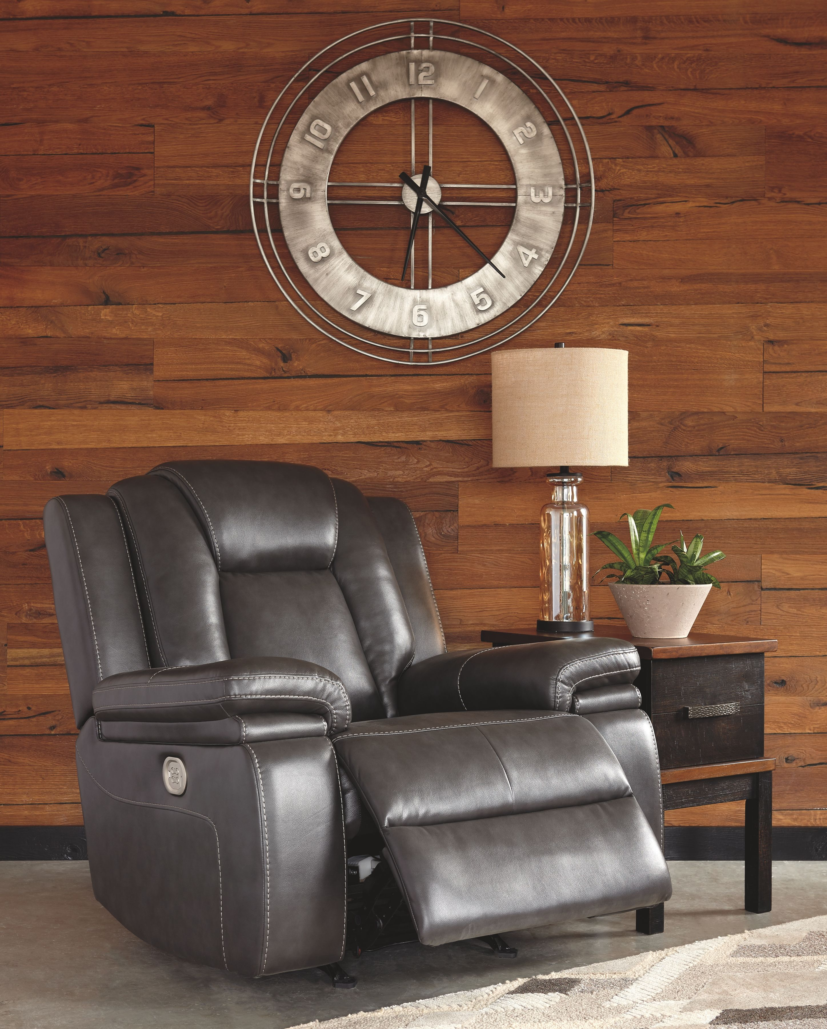 Garristown Power Recliner Gray In 2019 Products Power Recliners