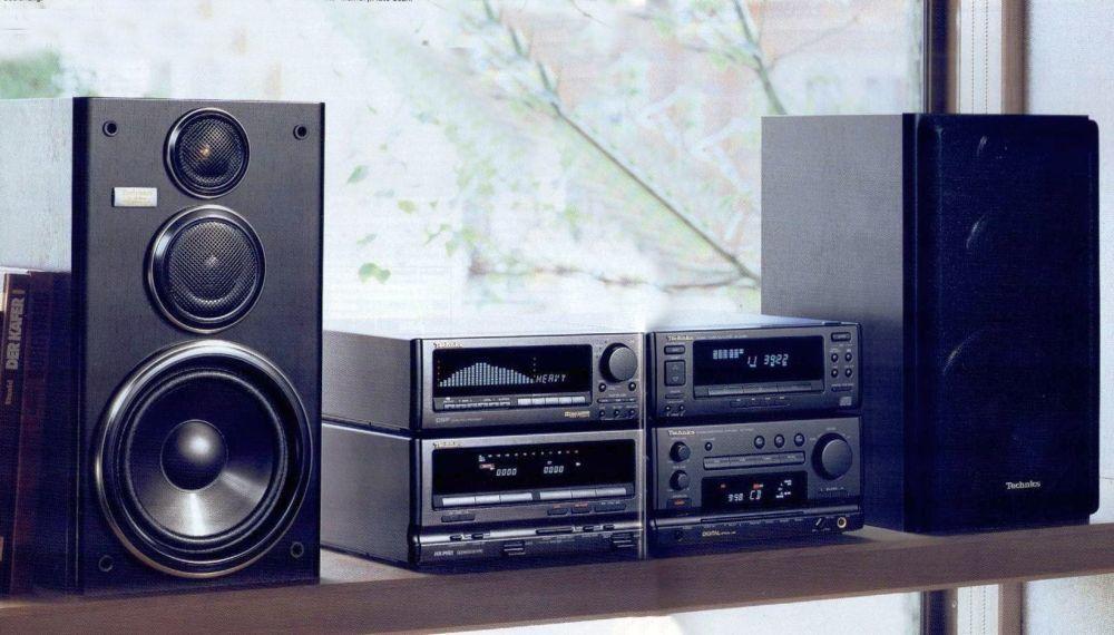 Digital Sound Processor Technics System 1992 Hifi Audio Audio Design Audio System