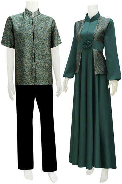 Sarimbit Batik Model Gamis Serat Nanas Call Order 085 959 844 222