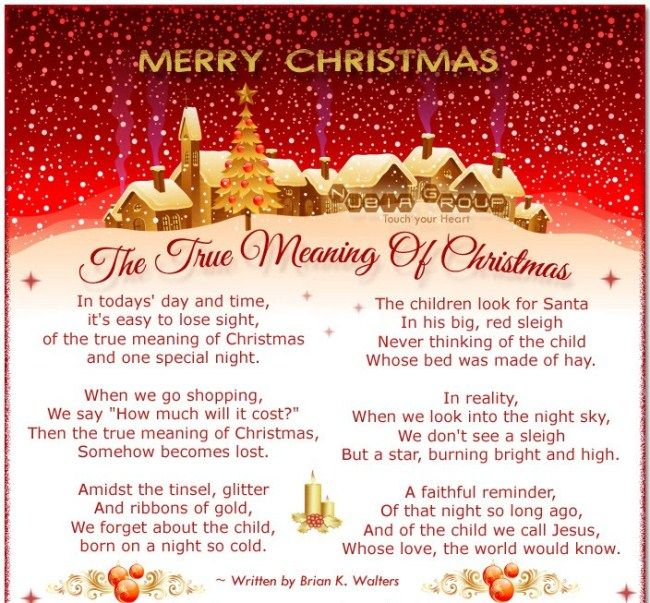 inspirational religious short christmas poem 2017 read online free