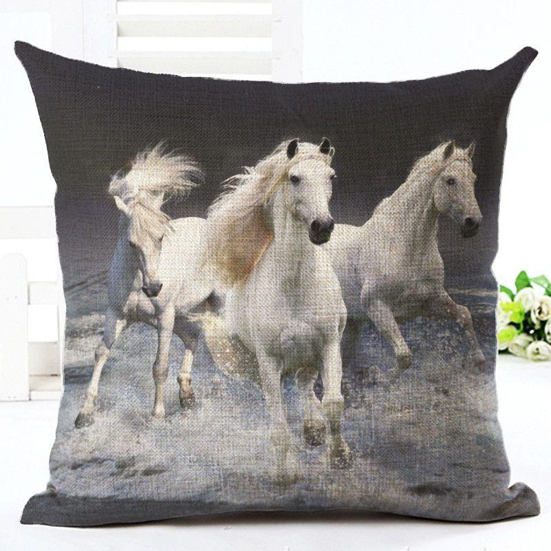 Beautiful Horse Theme Cushion Covers