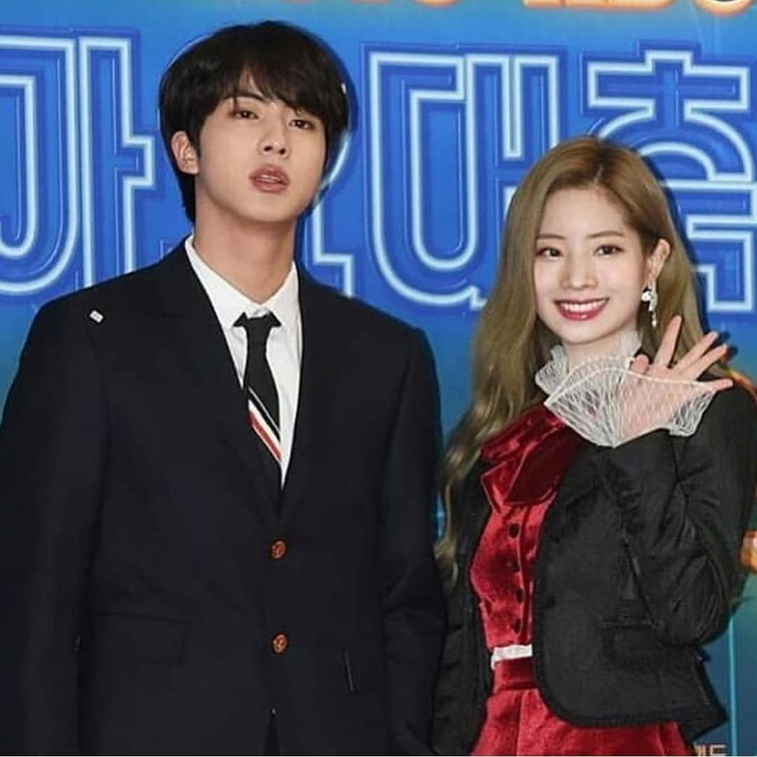 All I Could Say Is That Today Is The Official Ship Date For Dahjin Akdbsmdbs Bangtwice Bangtwicecouples Kimdahyun Kimseokjin Dahyun